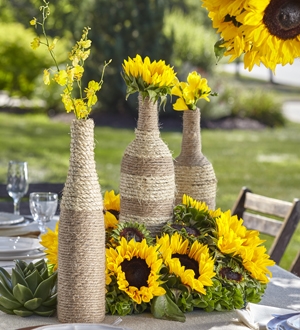 The FTD® Sublime Garden™ Centerpiece