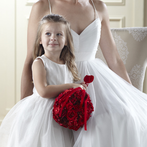 The FTD® Pure at Heart™ Flower Girl Arrangement