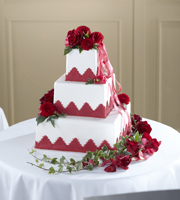 The FTD® Forever Happiness™ Cake Décor