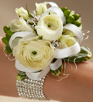 Le Corsage FTD® Marriage Blanc