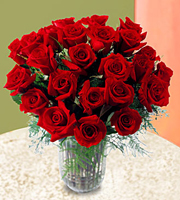 The FTD® 2 Dozen Long Stem Rose Bouquet